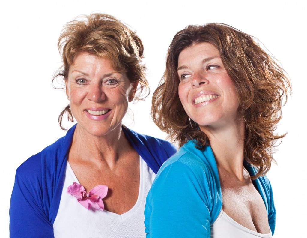 Tineke en Mireille